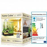 Dennerle AquariumSet NanoCube® Complete+ 10 mit LED 3.5