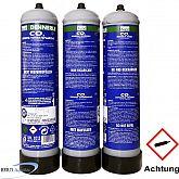 Dennerle CO2 Einweg-Flaschen Sparpack 3 x 500g
