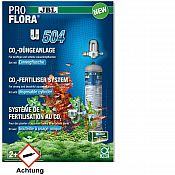 JBL ProFlora u504 CO2-Anlage Einweg