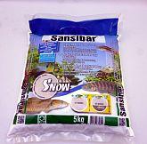 JBL Sansibar Snow feiner Naturbodengrund schneeweiß 5 kg