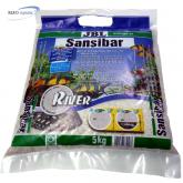 JBL Sansibar River Naturbodengrund grau 5 kg